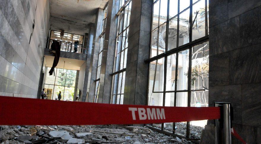TBMM ana bina mimarından onaylı bloklar yıkılıyor