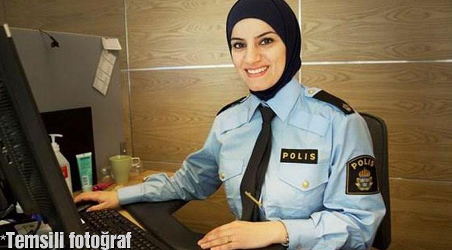 FOTO: TEMSİLİ - İsteyen kadın polisler başörtüsü takabilecekler.