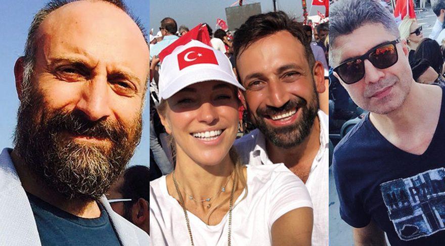 Yenikapı'ya hangi ünlüler gitti?