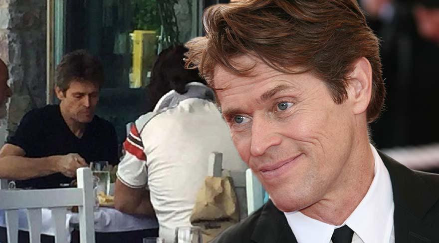Hollywood yıldızı Willem Dafoe Bodrum'da