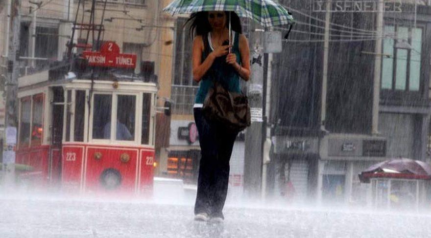 Hava durumu 15 Temmuz – Meteoroloji uyardı: Sıcaklıklar düşüyor, kuvvetli yağış geliyor!