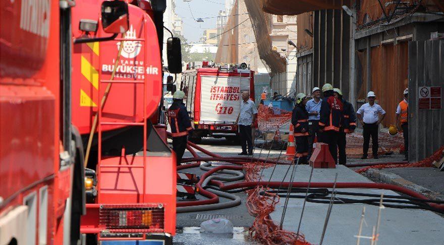 Karaköy'de korkulu saatler