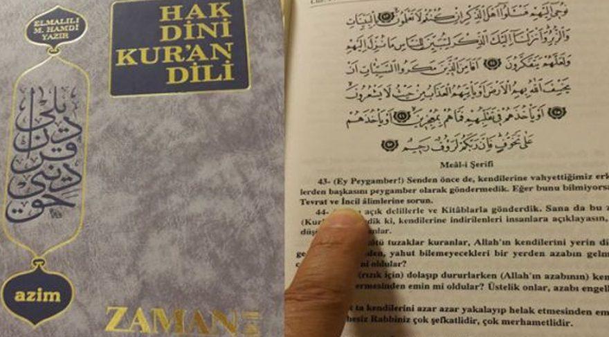 Fethullahçılar Kuran'ı da değiştirmiş!