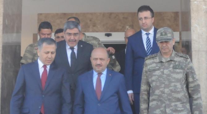 Milli Savunma Bakanı Işık, Gaziantep'te (2)