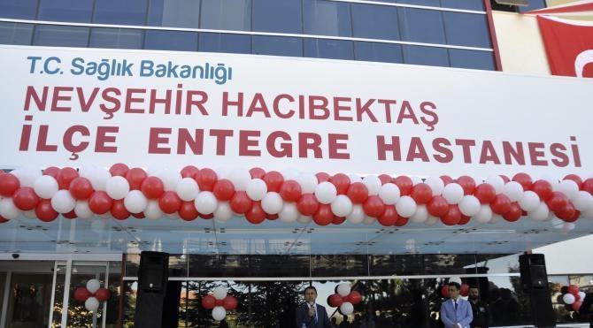 Hacıbektaş'a, 'entegre' hastane açıldı
