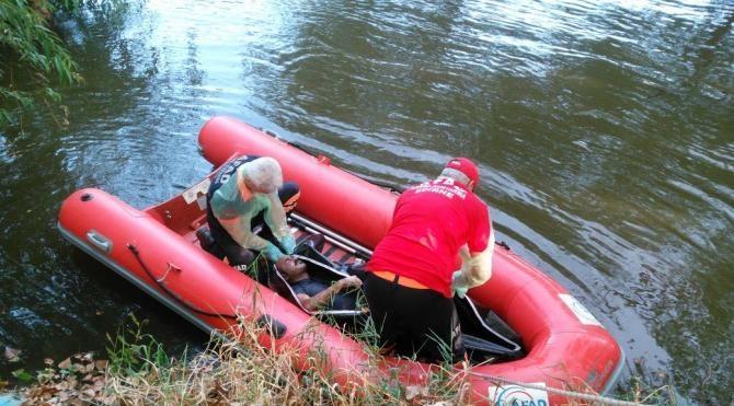 2 gündür kayıp garsonun, nehirde cesedi bulundu