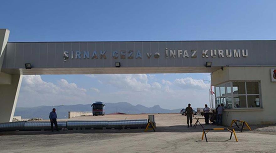 Şırnak Cezaevi'nde yangın: 1 mahkum öldü, 1 mahkum yaralı