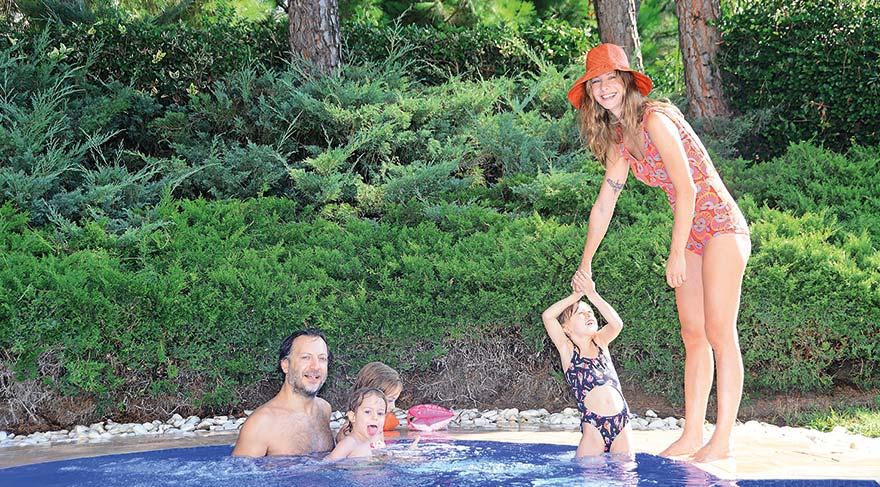 Çocuklarla tatil keyfi