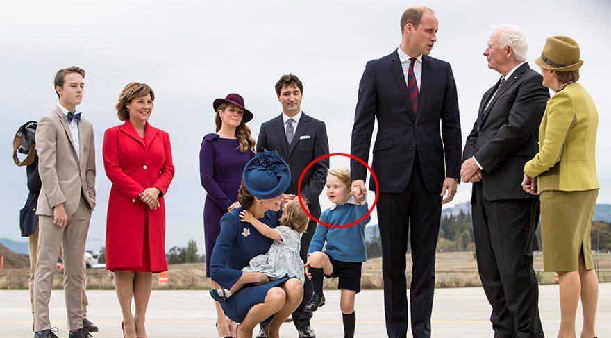 Dünya liderlerine diz çöktüren bebek
