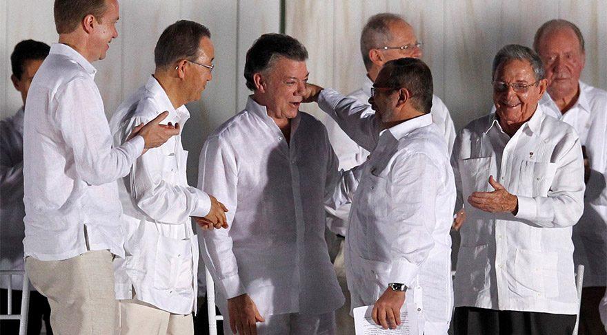 52 yıllık savaşı resmen bitiren anlaşma imzalandı