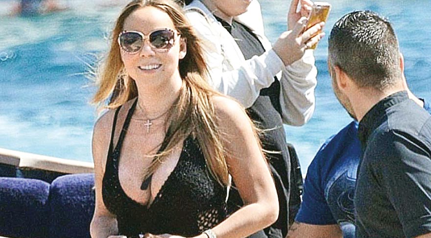 Mariah Carey Bodrum'da tatil yapmış