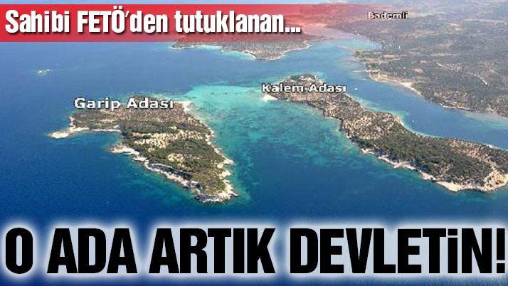 O ada artık devletin!