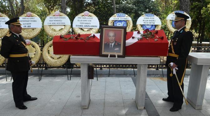 Eski MİT Müsteşarı Burhanettin Bigalı son yolculuğuna uğurlandı