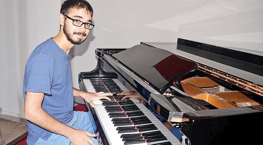 Genç piyanistin başarı öyküsü