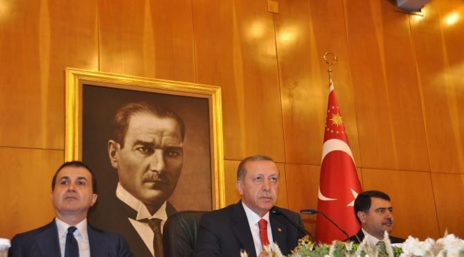 Cumhurbaşkanı Erdoğan: Münbiç denilen yer Araplara ait, PYD'ye ait gibi göstermek istiyorlar (2)