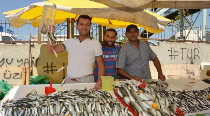 Manisa'da balık tezgahları doldu
