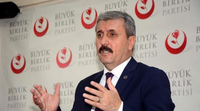 Destici: 'Türkiye bir an önce OHAL'den çıkmalı'