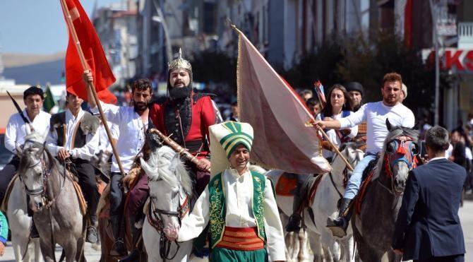 Kanuni Sultan Süleyman'ın Erzurum'a gelişinin 482'nci yılı kutlandı