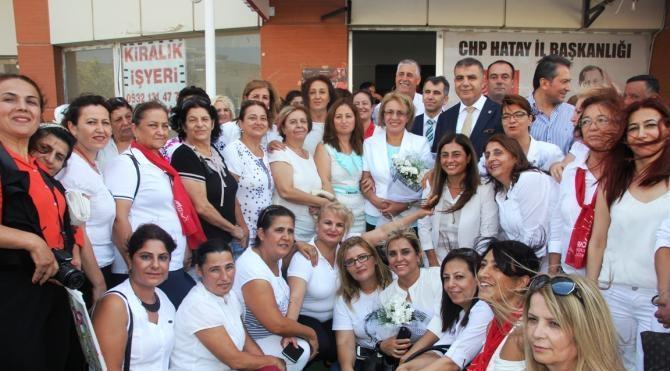 CHP Kadın Kolları Genel Başkanı Köse: Kadınların ölüm ve acıya dayanacak gücü kalmadı