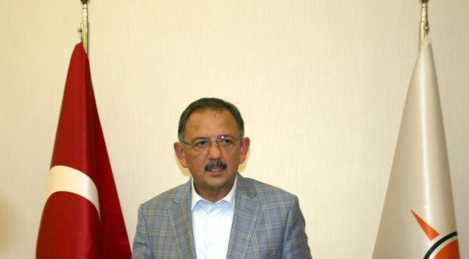 Bakan Özhaseki: Tampon bölgedeki imar hareketlerine hükümet karar verecek