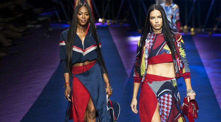 Versace 2017 İlkbahar/Yaz 2017 Milano Moda Haftası