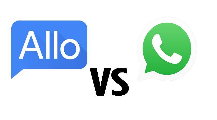 Google Allo ve Whatsapp arasındaki 5 fark!