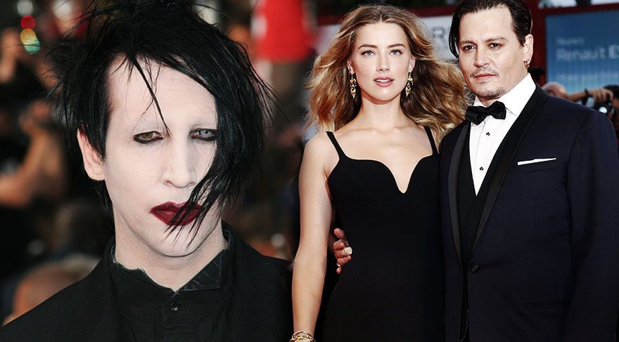 Marilyn Manson'dan Johnny Depp'e tam destek