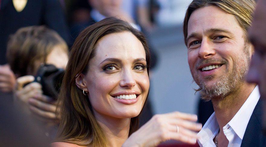 Angelina Jolie ve Brad Pitt'in heykelleri ayrıldı