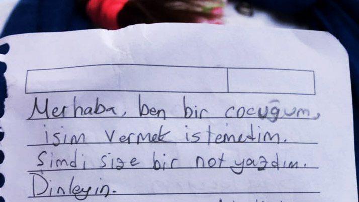 """10 yaşındaki çocuk """"Anıtkabir'e yapılan park için"""" mektup yazdı"""