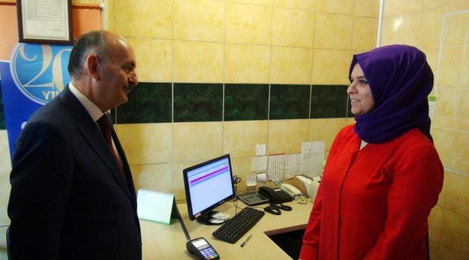 Bakan Müezzinoğlu Milli Tren'i inceledi (2)