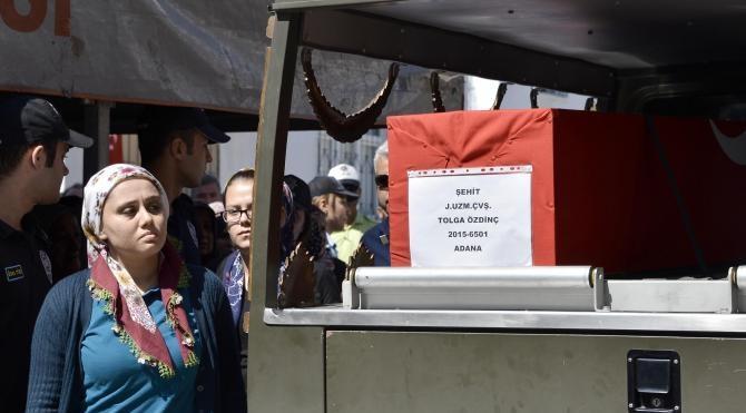Şehit Jandarma Uzman Çavuş Tolga Özdinç, toprağa verildi