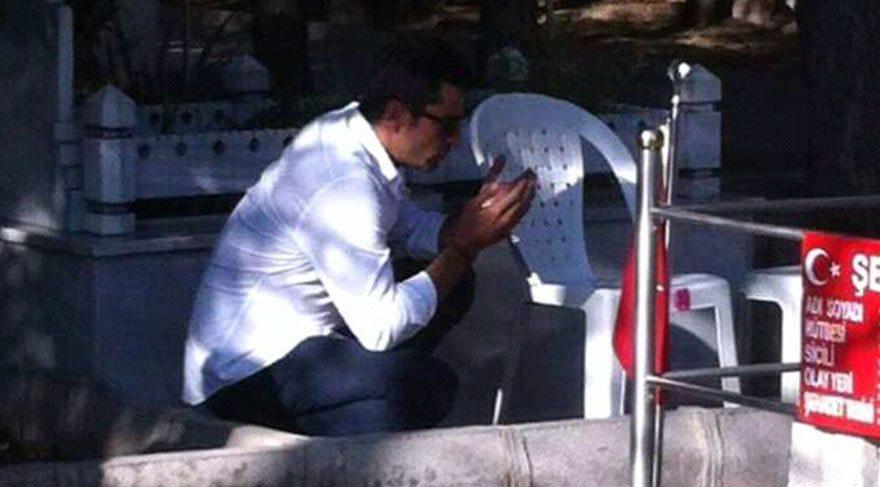 Kenan İmirzalıoğlu, Şehit Ömer Halisdemir'in kabrini ziyaret etti