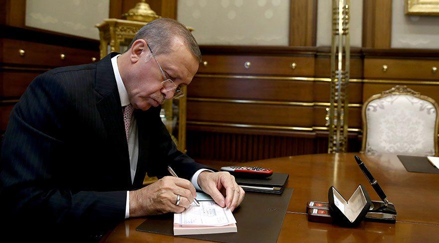 Erdoğan, Diyanet Vakfı'na kurban bağışında bulundu
