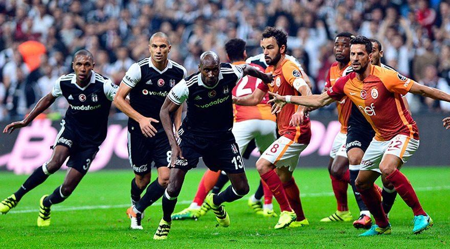 Beşiktaş Galatasaray derbisinde eşitlik! Beşiktaş Galatasaray maç özeti izle (LİG TV)