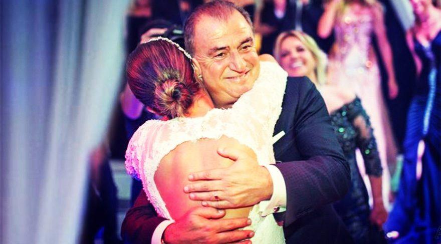 Buse Terim babası Fatih Terim'in doğum gününü kutladı