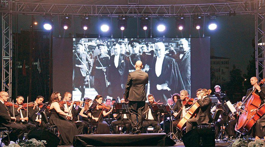 Çankaya Filarmoni Orkestrası büyüledi