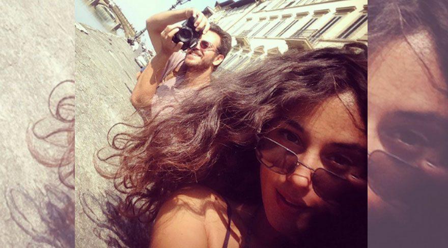 Cansu Tosun ve Erkan Kolçak Köstendil İtalya'da tatil yapıyor
