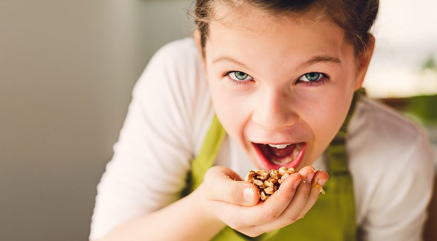 Çocuklar her gün ceviz yemeli