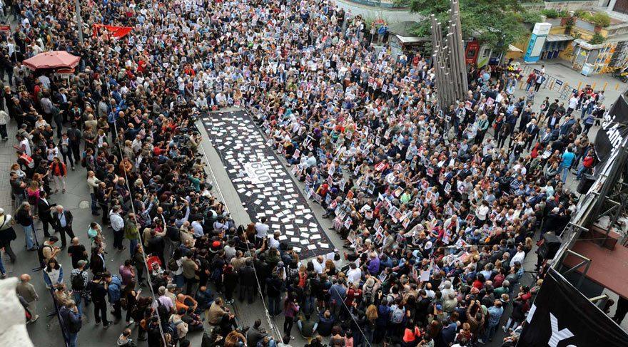 Cumartesi Anneleri'nin 600'üncü oturma eylemi