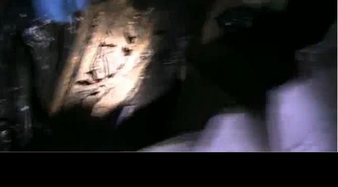 Öldürülen genç kadının kemiklerinin bulunduğu an kamerada
