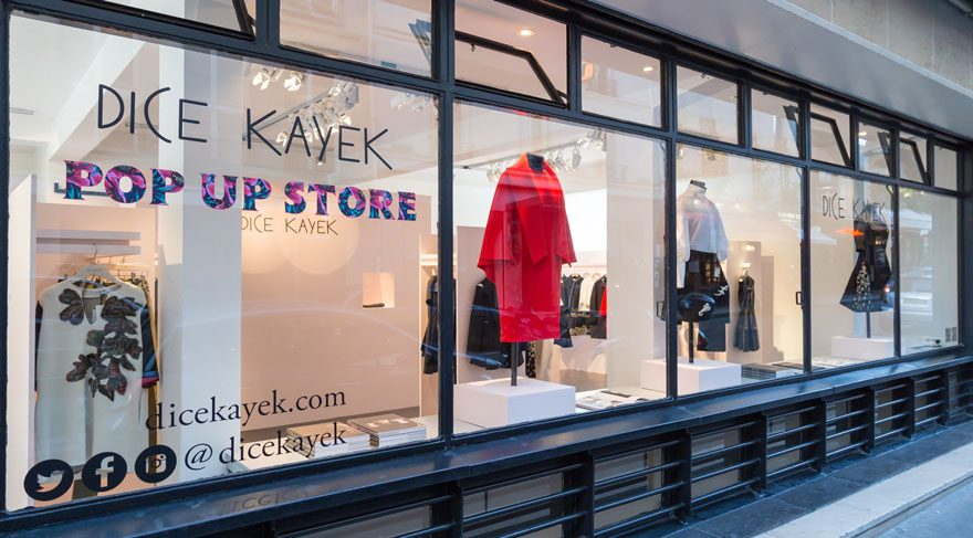 Dice Kayek Pop-Up Butik Paris'te Açıldı