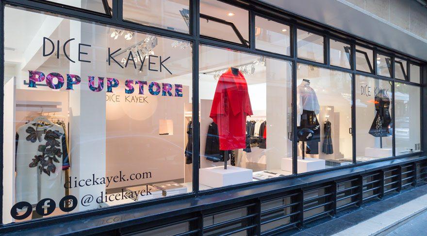Dice Kayek Pop-Up Butik Paris'te Açıldı