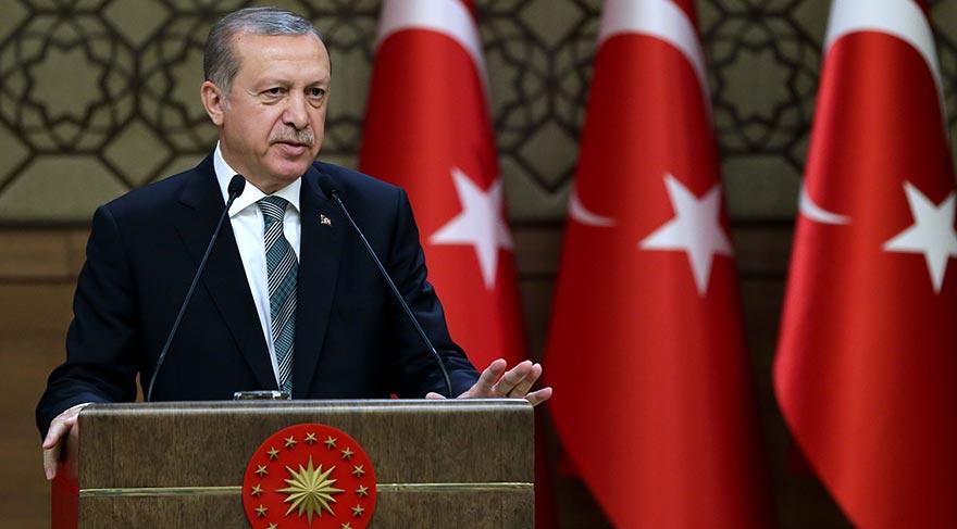 Erdoğan'dan muhtarlar toplantısında Lozan çıkışı