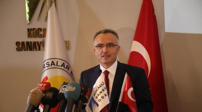 Bakan Ağbal: Asgari ücret bin 300 liranın altına düşmeyecek