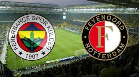 Fenerbahçe tur peşinde! Fenerbahçe Feyenoord maçı hangi kanalda saat kaçta?