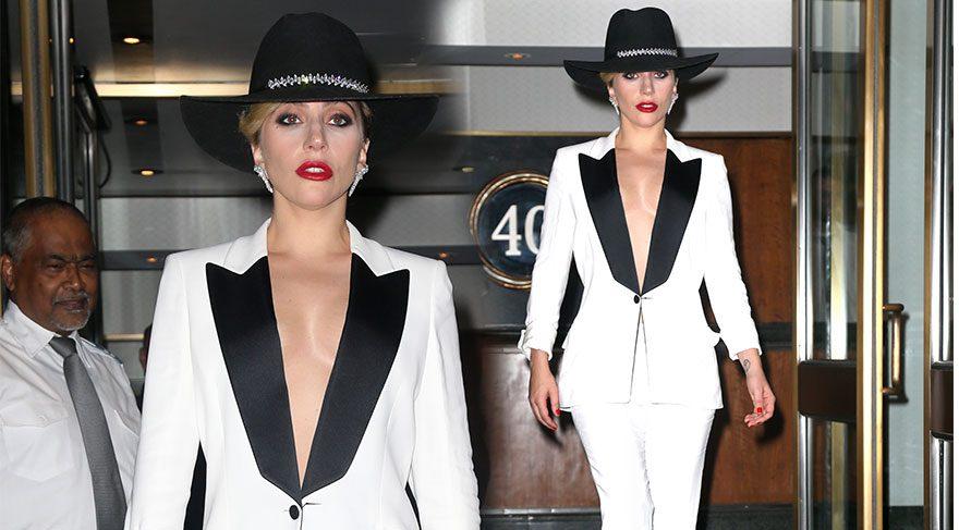 Lady Gaga, yeni stiliyle şaşırtıyor