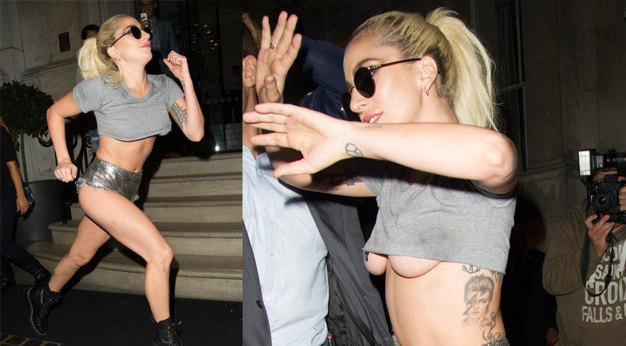 Lady Gaga hayranlarına koştu