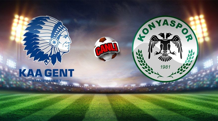 Atiker Konyaspor Gent maçı hangi kanalda? Konyaspor-Gent (CANLI İZLE)