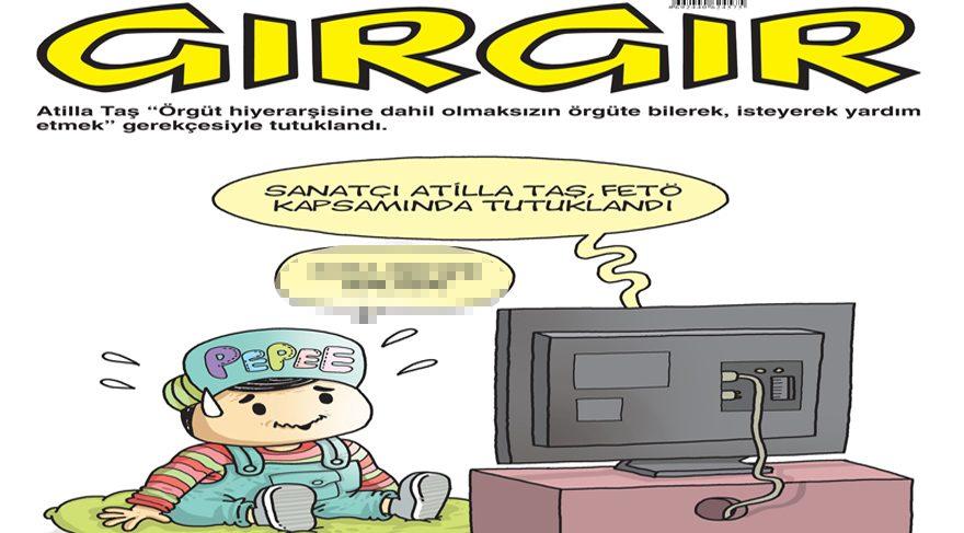 Gırgır'ın kapağında FETÖ tutuklamaları var