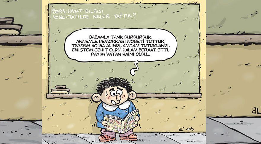 Yeni eğitim ve öğretim dönemi Gırgır'ın kapağında